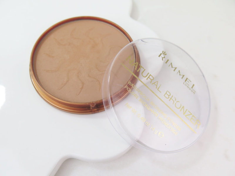 Rimmel London Natural Bronzer, 021 Sun Light ($8 CAD, 14g)