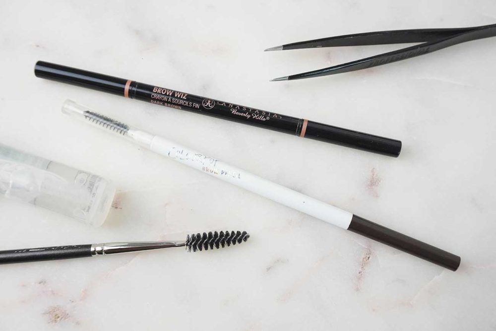 Anastasia Brow Wiz Vs Colourpop Brow Pencil Plateau Beauty