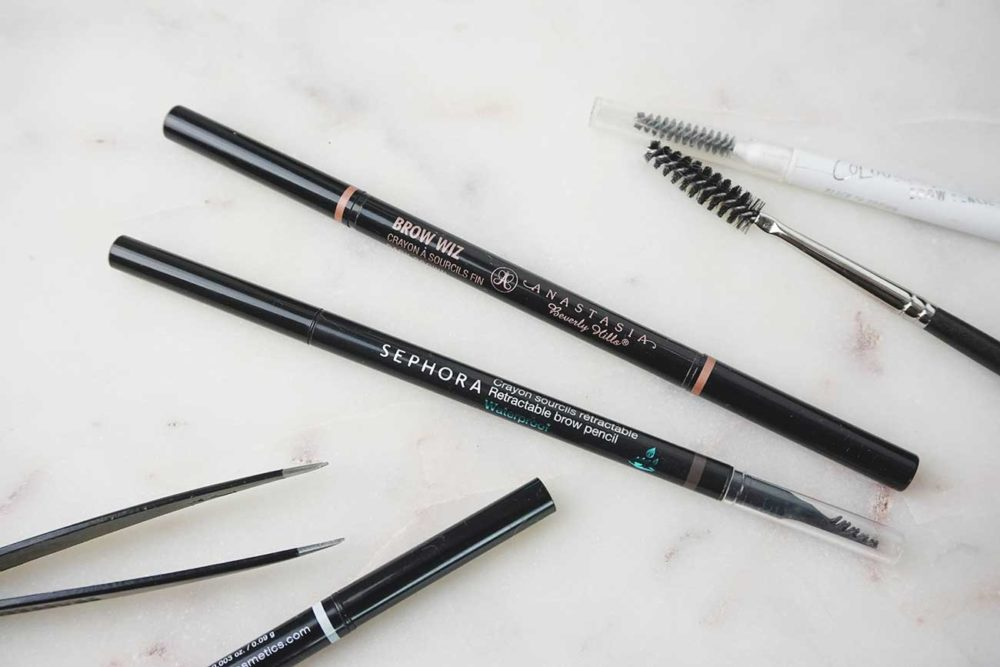 Anastasia Brow Wiz Vs Sephora Retractable Brow Pencil Plateau Beauty